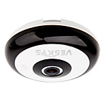 VESKYS® 360 Degree HD Full View IP Network Security WiFi Camera 1.3MP FishEye