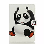 For Card Holder with Stand Flip Case Full Body Case Panda Hard PU Leather for Apple iPad Air 2  Air  Mini 4  Mini 3/2/1 iPad 2.3.4