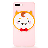 For DIY Case Back Cover Case 3D Cartoon Soft TPU for Apple iPhone 7 Plus iPhone 7 iPhone 6s Plus iPhone 6 Plus iPhone 6s iPhone 6