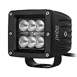 ZIQIAO 18w LED Work Light Off Road Offroad Lamps SUV Led Boat Light for Ford F150 F250 Truck Tractor Led Driving Light Lamp