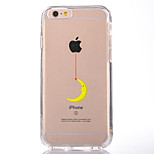 For IPhone 7 Case Back Cover Case TPU Moon Pattern for iPhone 7/ 7 Plus 6s/ 6 /6s Plus / 6 Plus/ SE / 5s / 5 /5C/ 4/4s