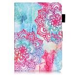 Per A portafoglio Porta-carte di credito Con supporto Con chiusura magnetica Fantasia/disegno Custodia Integrale Custodia Fiori Mandala