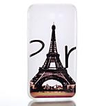 Pour Phosphorescent Dépoli Translucide Motif Coque Coque Arrière Coque Tour Eiffel Flexible PUT pour SamsungJ7 (2016) J7 (2017) J5 (2016)