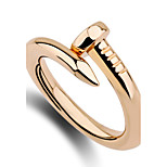 Women's Ring Band Rings Unique Design Euramerican Fashion Personalized Simple Style Zinc Alloy Irregular Jewelry For Anniversary Birthday
