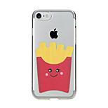 Per Transparente Fantasia/disegno Custodia Custodia posteriore Custodia Cartone animato Morbido TPU per AppleiPhone 7 Plus iPhone 7