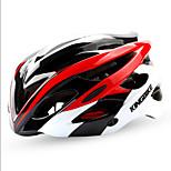 Универсальные Велоспорт шлем 27 Вентиляционные клапаны Велоспорт Велосипедный спорт Стандартный размер