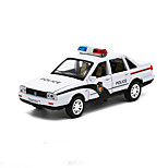 Police car Pull Back Vehicles Car Toys 1:32 Metal Blue Model & Building Toy