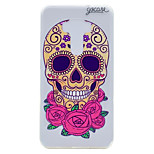 For Asus ZenFone 3 (ZE552KL)(5.5) ZE520KL(5.2) Skeleton Flower Pattern Soft TPU Material Phone Case