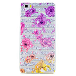 For HUAWEI Mate 9 P10 Plus Flower Pattern Soft TPU Material Phone Case for P10 P8 Lite(2017) P8 Lite Y5 II Y6 II Nove Honor 6X