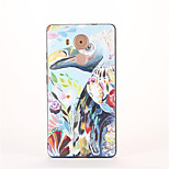 For Huawei Mate 9 Huawei Mate 8 Pattern Case Back Cover Case Flamingo Soft TPU