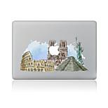 1 pezzo Anti-graffi Scenario Di plastica trasparente Decalcomanie A fantasia PerMacBook Pro 15'' with Retina MacBook Pro 15 '' MacBook