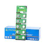 tmmq AG10 moneta&accumulatore alcalino / alcalino cellule del tasto 1.55V 40 pacco