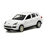 SUV Pull Back Vehicles Car Toys 1:32 Metal White Model & Building Toy