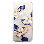 For Huawei P8 Lite (2017) P10 Case Cover Blue Flowers Pattern Painted High Penetration TPU Material Soft Case Phone Case P10 Lite