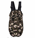 The Pet Dog Backpack Out Chest Bag Convenient Four Camouflage Backpack Bag