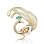 Women's Brooches Jewelry Unique Design Euramerican Personalized Crystal Alloy Jewelry Jewelry For Party Daily Casual