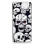 For Sony Xperia XA Case Cover Skeleton Pattern Luminous TPU Material IMD Process Soft Case Phone Case