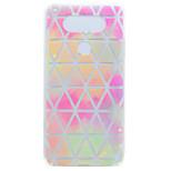 For LG G6 X Power Geometric Pattern Pattern Soft TPU Material Phone Case for K10 K8 K7 V20 Nexus 5X