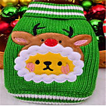 Dog Sweater Dog Clothes Winter Cartoon Christmas