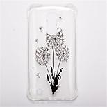 Para Antigolpes Transparente Diseños Funda Cubierta Trasera Funda Flor Suave TPU para LG LG K10 LG K8 LG K7