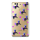For Ultra Thin Pattern Case Back Cover Case Unicorn Soft TPU for HuaweiP9 P9 Lite P9 Plus P8 P8 Lite Mate8