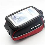 Велосумка/бардачокСотовый телефон сумка Бардачок на раму Сенсорный экран Велосумка/бардачок ПВХ Полиэстер 600 ден ВелосумкаВелосипедный