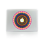 For MacBook Air 11 13/Pro13 15/Pro With Retina13 15/MacBook12 Retro Flower Decorative Skin Sticker Glow in The Dark