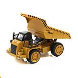 Construction Vehicle Pull Back Vehicles Car Toys 1:32 Metal Khaki Model & Building Toy