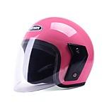 YEMA 607 Motorcycle Helmet Summer ABS Anti-UV Half Helmet For 54-61cm with Anti-Fog Lens