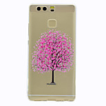 For Case Cover Transparent Pattern Back Cover Case Tree Soft TPU for HuaweiHuawei P10 Plus Huawei P10 Lite Huawei P10 Huawei P9 Huawei P9