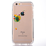 For IPhone 7 Case Back Cover Case TPU Color Balloon Pattern for iPhone 7/ 7 Plus 6s/ 6 /6s Plus / 6 Plus/ SE / 5s / 5 /5C/ 4/4s