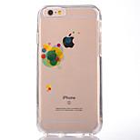 Pour Transparente Motif Coque Coque Arrière Coque Ballon Flexible PUT pour AppleiPhone 7 Plus iPhone 7 iPhone 6s Plus iPhone 6 Plus