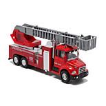 Camión de bomberos Vehículos de tracción trasera Juguetes de coches 1:60 Metal Plástico Rojo Modelismo y Construcción