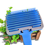 Dog Cleaning Comb Pet Grooming Supplies Portable Blue