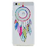For Huawei P10 P9 Lite Case Cover Transparent Pattern Back Cover Case Dream Catcher Soft TPU for P10 Plus P8 Lite2017P8 Lite