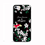 Luxury Red swallow Pattern Case Cover Beautiful Flowers Soft TPU for Apple iPhone 7 Plus/iPhone 7/iPhone 6s Plus/iPhone 6s/iphone5