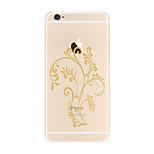 Per Transparente Fantasia/disegno Custodia Custodia posteriore Custodia Albero Morbido TPU per AppleiPhone 7 Plus iPhone 7 iPhone 6s Plus