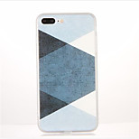 For Pattern Case Back Cover Case Geometric Pattern Soft TPU for Apple iPhone 7 Plus iPhone 7 iPhone 6s Plus iPhone 6 Plus iPhone 6s iPhone