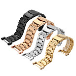 For SUUNTO CORE Tools Stainless Steel Watchband Solid Metal Watch Bracelet Strap Double Insurance Buckle 24mm