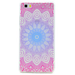 For Huawei P10 P9 Lite Case Cover Transparent Pattern Back Cover Case Mandala Flower Soft TPU for P10 Plus P8 Lite2017P8 Lite