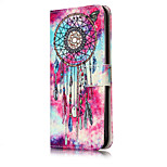 For iPhone 7Plus 7 PU Leather Material Butterfly Chimes Pattern Painted Phone Case 6s Plus 6Plus 6S 6 SE 5s 5 5C