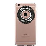 Pour Transparente Motif Coque Coque Arrière Coque Jeux Avec Logo Apple Flexible PUT pour AppleiPhone 7 Plus iPhone 7 iPhone 6s Plus