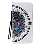 For Case Cover Card Holder Wallet with Stand Flip Pattern Full Body Case Mandala Hard PU Leather for Apple iPhone 7 Plus 7 6s 6Plus 5S 5SE
