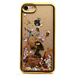 For iPhone 7 7 Plus Case Cover Plating Flowing Liquid Pattern Back Cover Case Sexy Lady Glitter Shine Soft TPU for 6S 6 Plus 6S SE 5S