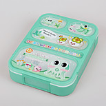 Cute 5 Compartment Snack Containers Meal Prep Bento Box