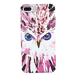 For Apple iPhone 7 7Plus Pattern Case Back Cover Case Owl Hard PC 6s plus 6 plus 6s 6