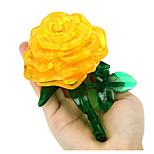 Jigsaw Puzzles 3D Puzzles Building Blocks DIY Toys Roses Plastic Model & Building Toy