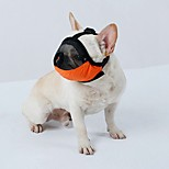Dog Muzzles Travel Tool Beauty Supplies Accessories  S M L Adjustable Strap Lined Terylene Brethable Mesh Pet Muzzles Anti-Bite Muzzles
