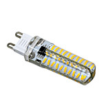 HKV® G9 G4 G8 GY6.35 E11 5W 80LED 4014SMD 400-500Lm Warm White Cool White Dimmable LED Bi-pin Lights AC 110V / AC 220V 1 pcs