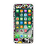 For iPhone 7 Plus Cartoon Cat Colours  Before And After The Whole Stickers Light in The Dark for iPhone 6 6S Plus SE/5s/5/5 /4/4s